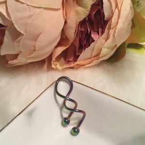 🌸Brand New Twisted BellyButton Ring SurgicalSteel